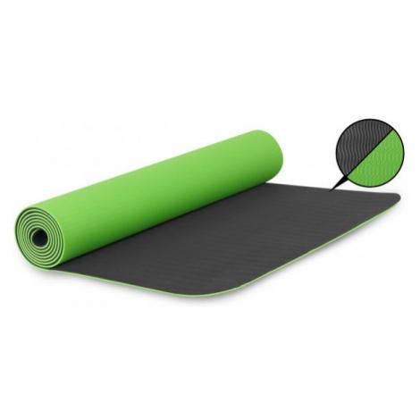 Fitforce YOGA MAT 180X61X0,4 zelená - Cvičební podložka