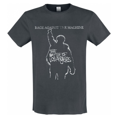 Rage Against The Machine Amplified Collection - The Battle Of LA Tričko charcoal