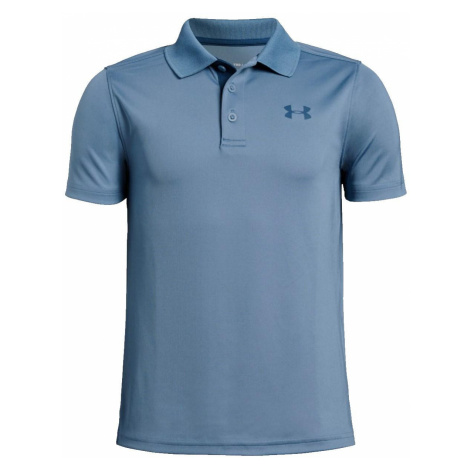Dětské tričko Under Armour Polo Modrá / Tmavě modrá