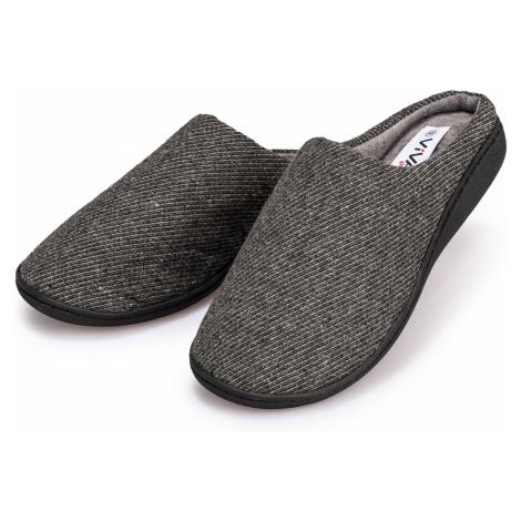 Domácí pantofle pánské antracitová