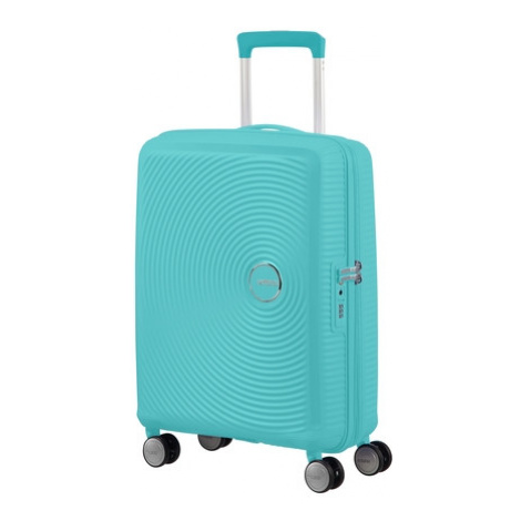 AT Kufr Soundbox Spinner Expander 55/20 Cabin Poolside Blue, 40 x 20 x 55 (88472/8864) American Tourister
