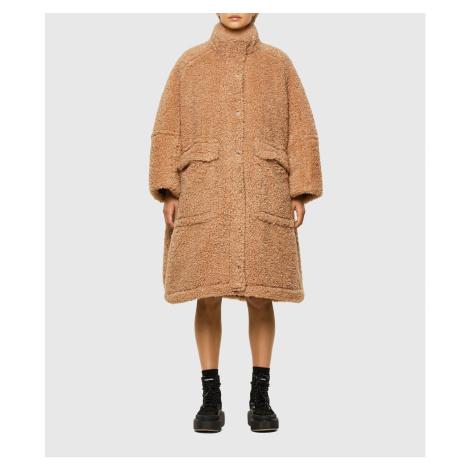 Kabát Diesel L-Taky Jacket - Hnědá