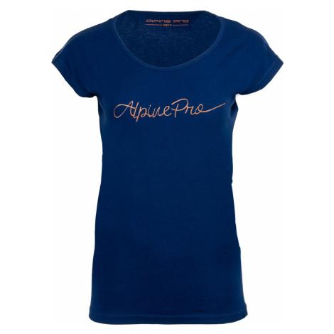 Dámské triko Alpine Pro LAKYLA - tmavě modrá