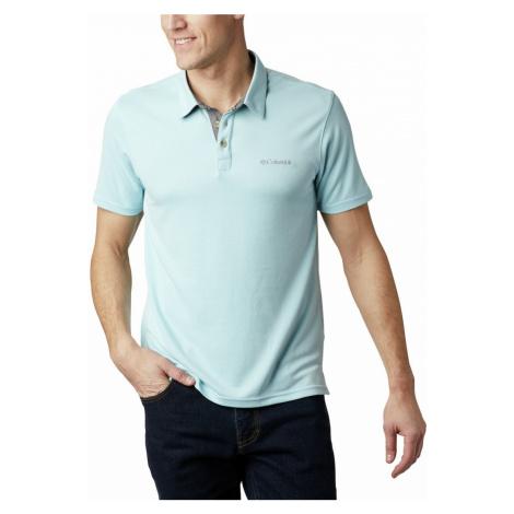 Tričko Columbia Nelson Point™ Polo M - světle modrá