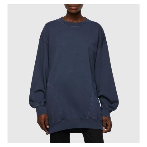 Mikina Diesel F-Exa Sweat-Shirt - Modrá