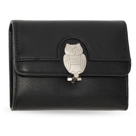 Anna Grace černá peněženka s motivem sovy 1102