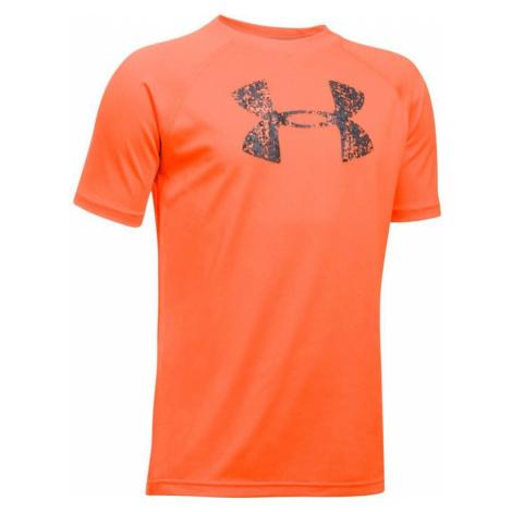 Triko Under Armour Logo - oranžová