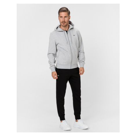 Sport Hooded Lightweight Bi-material Mikina Lacoste