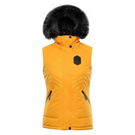 ALPINE PRO JARVISA 3 Dámská vesta LVES071231 radiant yellow