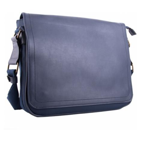 Modrá větší pánská taška přes rameno Daniell BELLA BELLY