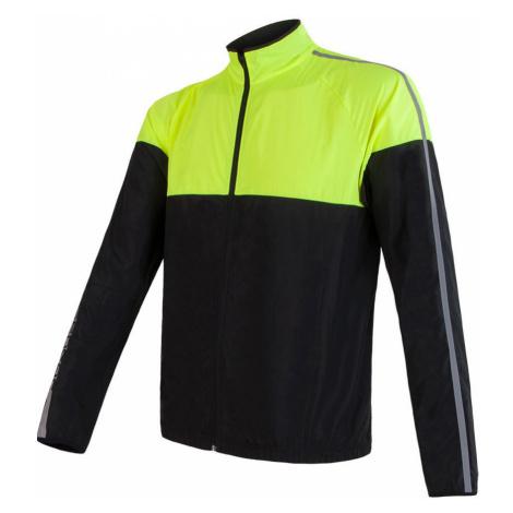NEON Pánská ultralehká sportovní bunda 17100115 žlutá Sensor