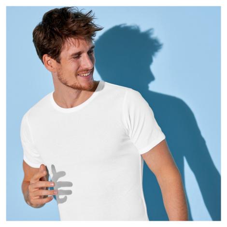 Blancheporte Spodní tričko s kulatým výstřihem, sada 3 ks bílá