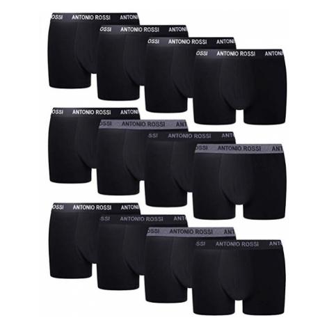 Pánské značkové boxerky balení 12 kusů Antonio Rossi Barva: Černá