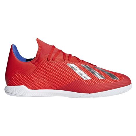 Sálovky adidas X Tango 18.3 Indoor IC Červená / Bílá