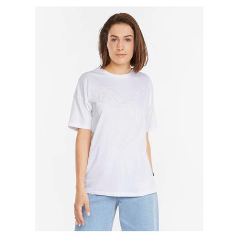 Bílé dámské tričko Puma Her Tee