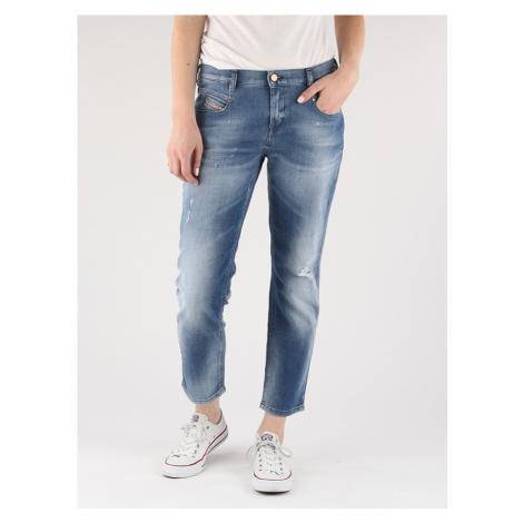 Džíny Diesel Belthy-Ankle L.32 Pantaloni Modrá