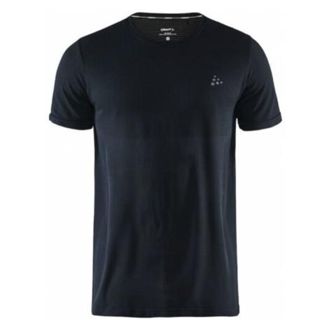 Pánské tričko CRAFT Fuseknit Light S/S Black
