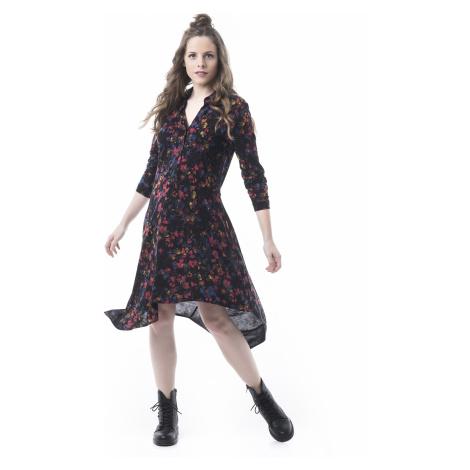 Mamatayoe Crocante Dámské šaty černé