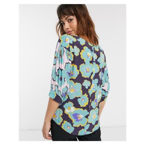 Closet puff sleeve blouse-Multi