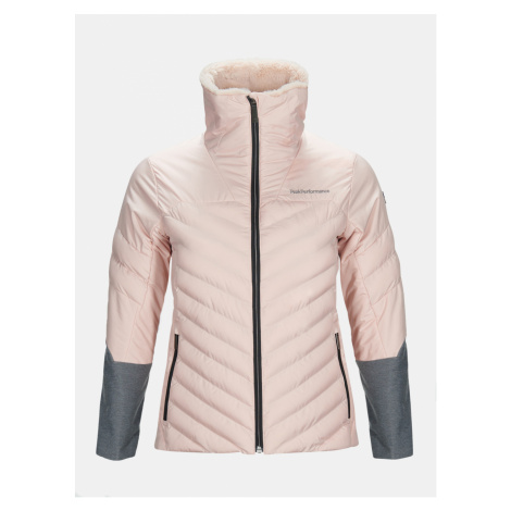 Bunda Peak Performance W Vel L J Active Ski Jacket - Růžová