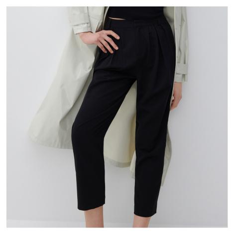 Reserved - Ladies` trousers - Černý