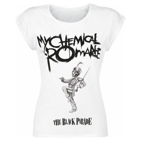 My Chemical Romance Black Parade Cover dívcí tricko bílá