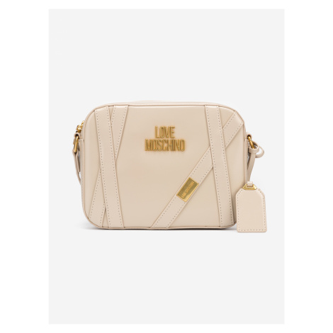 Cross body bag Love Moschino Béžová