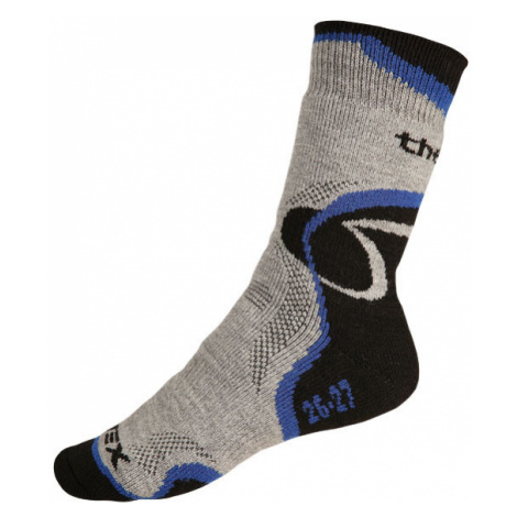 LITEX Termo ponožky 9A014507 modrá