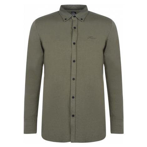 Fabric Long Sleeve Jersey Shirt Mens