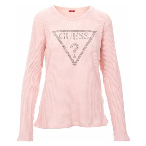 Guess dámský svetr růžový
