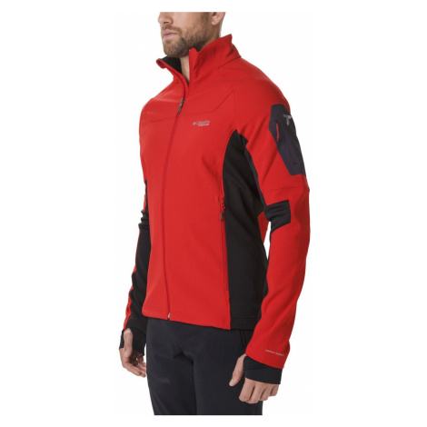 Mikina Columbia Titan Ridge™ 2.0 Hybrid Jacket M - červená