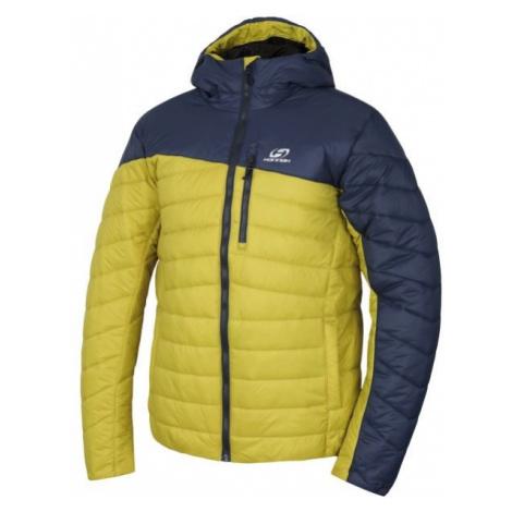 Hannah NOTYNNO žlutá - Pánská zimní bunda