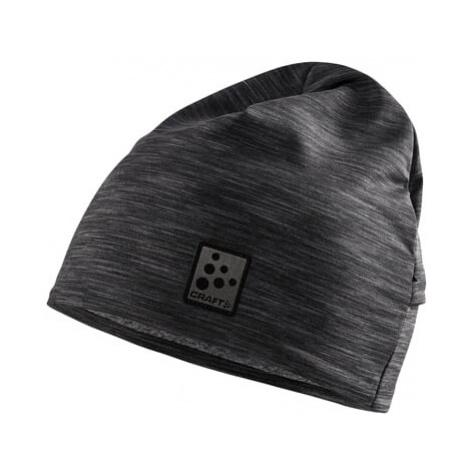 Čepice Craft Microfleece Ponytail černá