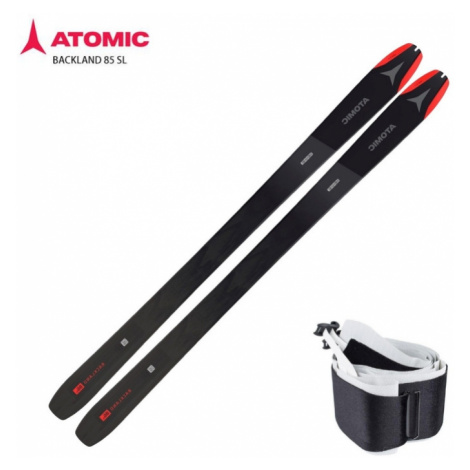 Lyže Atomic Backland 85 SL + stoupací pásy Atomic Backland 85 Black
