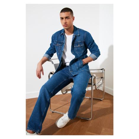 Trendyol Indigo Men's Long Fit Jacket
