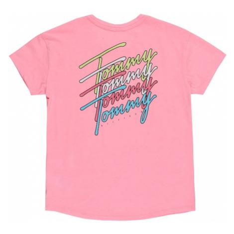 TOMMY HILFIGER Tričko růžová / mix barev