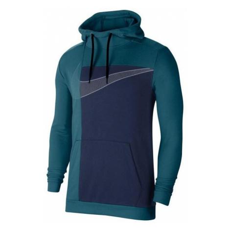 Mikina Nike Dry Hoodie Modrá