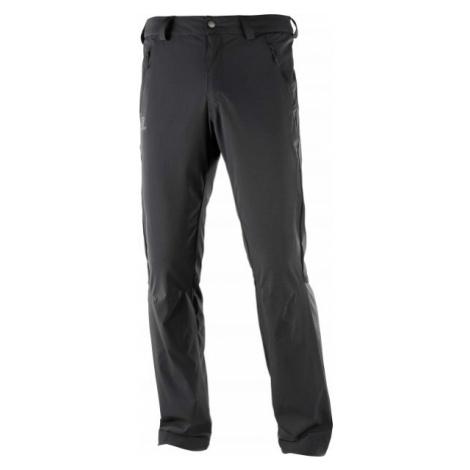 Salomon WAYFARER LT PANT M černá - Pánské outdoorové kalhoty