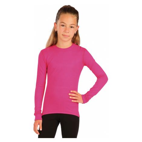 LITEX Funkční termo triko dětské 60160303 růžová