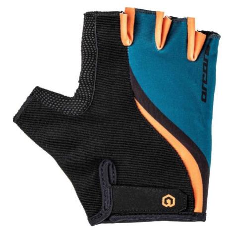 Arcore LEAF černá - Letní cyklistické rukavice