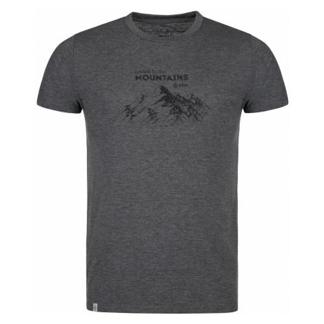 Pánské outdoorové tričko KILPI GAROVE-M tmavě šedá