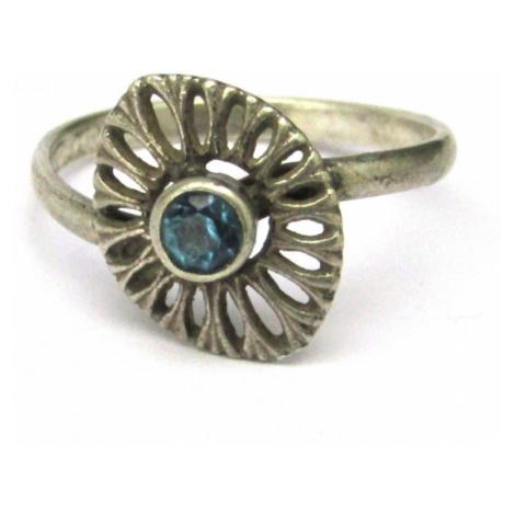 AutorskeSperky.com - Stříbrný prsten se smaragdem - S3520