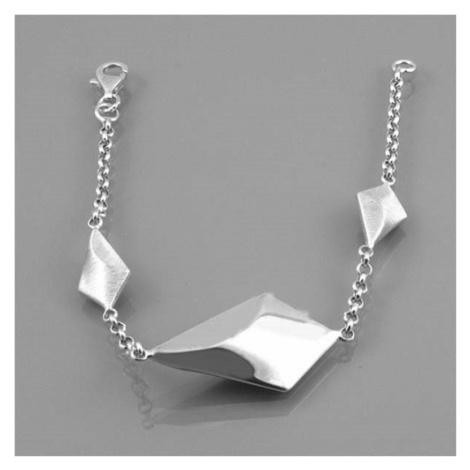 Dámský stříbrný náramek VB1054