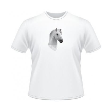 Pánské tričko SuperStar Kůň z polygonů