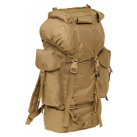 Nylon Military Backpack - camel Urban Classics