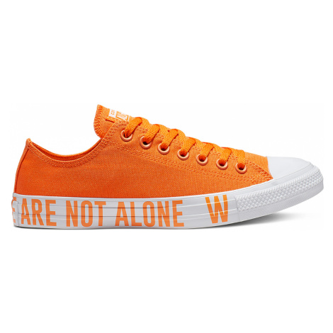 Converse Chuck Taylor All Star We Are Not Alone oranžové 165385C