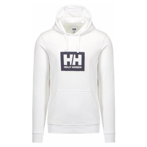 Mikina Helly Hansen HH BOX HOODIE bílá