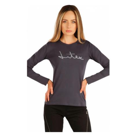 Dámské tričko s dlouhým rukávem Litex 7A367 | tmavě šedá