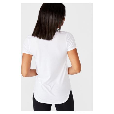 Sportovní triko Gym bílé Cotton On