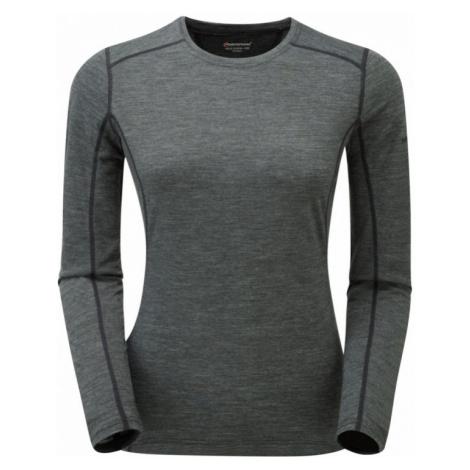 Dámské tričko Montane Fem Primino 140 L/S black